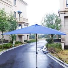 Solar Lighted Rectangular Patio Umbrella by Rectangular Umbrella With Solar Lighted