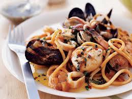 cuisine pasta seafood pasta with tuscan recipe rolando beramendi