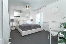 what color bedroom furniture goes with light grey walls best