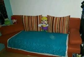 2 in 1 kinderzimmer aufklapp sofa bett mit kissen otto