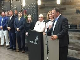 Mack Trucks Celebrates Grand Opening Of Remodeled Customer Center ...