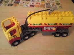 Lego Duplo Tanker Truck / Lorry With Driver Sounds Effects | In ...
