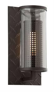 troy b4621tbz murdoch modern solid aluminum outdoor wall light