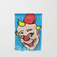 100 Pop Art Home Decor Clown Art Clown Illustration Clown Pop Art Home Decor Wall Hanging By Vincentrussell