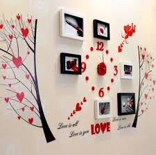 Get Quotations New 2014 Free Shipping Photo Frame 5pcs Lot Wall Clock Frames Home Decor Birthdays