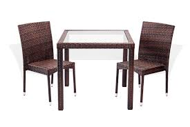 Galleon - 3 Pc Patio Resin Outdoor Wicker Dining Set Square ... Adams Manufacturing Quikfold White Resin Plastic Outdoor Lawn Chair Semco Plastics Patio Rocking Semw 5 Pc Wicker Set 4 Side Chairs And Square Ding Table Gray For Covers Sets Tempered Round 4piece Honey Brown Steel Fniture Loveseat 2 Sku Northlight Cw3915 Extraordinary Clearance Black Bar Rattan Small Bistro Pa Astonishing And Metal Suncast Elements Lounge With Storage In