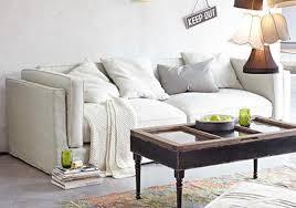 sofa zum entspannen natürliche farbe