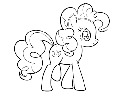 My Little Pony Coloring Pages Pinkie Pie Sheet