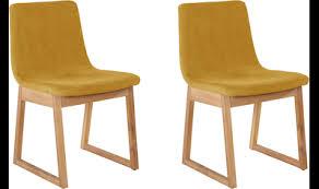 esszimmerstühle gelb auf rechnung kaufen baur