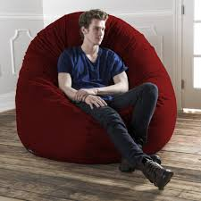 Jaxx 6 Foot Cocoon - Large Bean Bag Chair For Adults ...