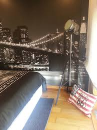 100 New York Style Bedroom My Teenage Sons Decor Theme My Room In 2019