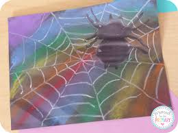 Preschool Halloween Spider Books by Learning About Spiders