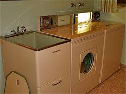 Laundry Room Sink With Built In Washboard by 1950s Time Capsule Laundry Room With An Original Matching Set Of