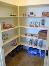 amazing kitchen pantry shelving design with unfinished modular
