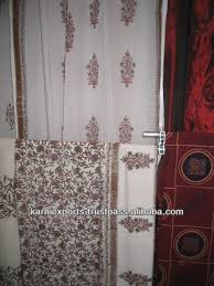 Curtain Rod Set India by Cotton Hand Block Printed Jaipuri Curtains Bedsheets India Print