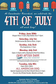 sweetwater river deck events sw riverdeck s 4th of july weekroute 40