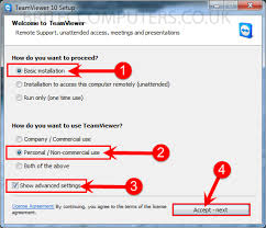 Setup Unattended Access with Teamviewer