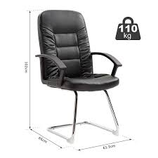 Vinsetto High Back Office Chair Plush Guest Computer Seat Executive ... Cirebon Stacking Mesh Guest Chair Fowler Highback By Flexsteel Medline Industries Inc Vinsetto High Back Office Wthick Padded Cushion Pu Lthercream Cheap Executive Chairs Find Ki Torsion Air Black Stack Younique Via Seating Back Bistro Chair Stool Source Fniture Alera Metalounge Series Highback 25 X 2637 437 Seatblack Silver Base Global Group Ofm Big And Tall Reception With Arms Microbantibacterial Vinyl Midback Genaro 2413 2588 3663 7302821 Del Mar Park Home