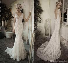 Vintage Wedding Dresses Lace Backless