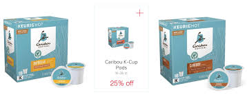 Awesome Deal On Caribou Coffee K Cup Pods