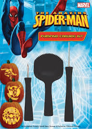 Spiderman Pumpkin Carving by Spiderman Pumpkin Carving Kit By Paper Magic Halloween Costumes