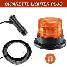 AnTom Led Strobe Light, Amber Emergency Magnetic Flashing Warning ...