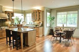 Kitchen And Dining Room Design Extraordinary Ideas Awesome Open Concept
