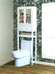 Above Toilet Storage Ideas Over The Best Cabinet On Bathroom
