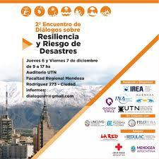 Mendoza Debate Sobre Riesgos De Desastres VA CON FIRMA MENDOZA