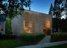 100 Studio Dwell Chicago Lipton Thayer Brick House By Brooks Scarpa And