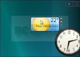 gadget de bureau windows 8 afficher ses gadgets directement sur le bureau windows vista
