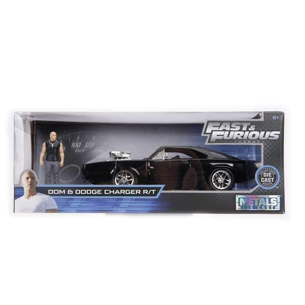 Jada Toys Dom Dodge Charger R/T Fast and Furious Diecast Car