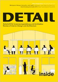 100 Interiors Online Magazine Inside 22018 DETAIL Of Architecture Construction Details