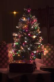Black Fiber Optic Christmas Tree 7ft by Pictures Of Christmas Trees Casual Cottage