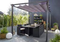 tonnelle alu luxe tonnelle pergola toiture de terrasse leroy