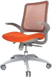 Fancy Orange fice Chairs In Home Design Ideas With Orange