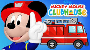 100 Mickey Mouse Fire Truck Clubhouse Kitten Rescue Minnie