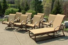 Winston Patio Furniture Replacement Slings by Patio Pool Outdoor Lawn Yard Furniture New Finish Paint