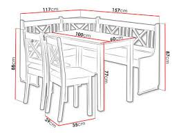 eckbank xeli i set mit 2 stühle und tisch esszimmer set