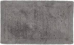 cawö badteppich luxury graphit 70x120 1002 779 70x120 cm