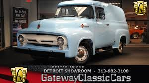 100 Ford Panel Truck For Sale 1956 Gateway Classic Cars 1366DET
