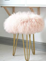 Wondrous White Fluffy Stool Design We Chat To Founder Of The Brand Suburban Salon Who Showcase