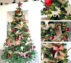 Rustic Christmas Tree Skirt Farmhouse Decor