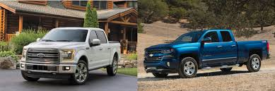 100 Ford Trucks Vs Chevy Trucks Head To Head 2016 F150 Vs 2016 Chevrolet Silverado 1500
