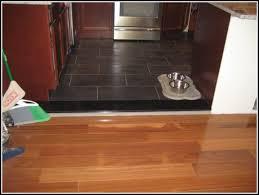 tile to wood floor transition ideas tiles home design ideas