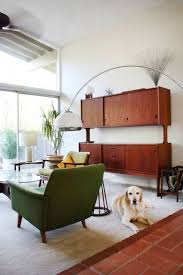modern tension pole l tags mid century floor l living room