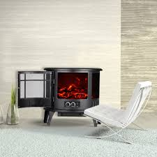Decor Flame Infrared Electric Stove Manual by Decdeal Free Standing 23