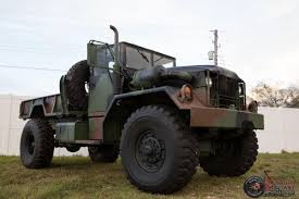 100 5 Ton Army Truck 1968 Kaiser Jeep M4A2 Military Multifuel Bobbed M3 4x4