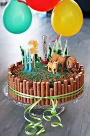 safari torte zum kindergeburtstag katrininthekitchen