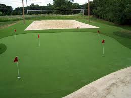 Fake Lawn Tallahassee Florida fice Putting Green Backyards